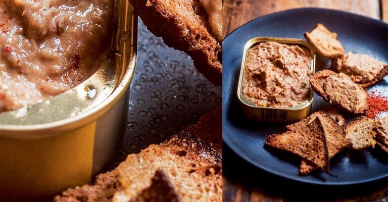 Rillettes de sardines par Julien Duboué, recette extraite de son livre Sud-Ouest ©Guillaume Czerw