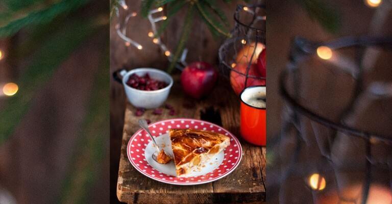 Galette Des Rois Du Trappeur Aux Pommes Caramelisees Et Pate D
